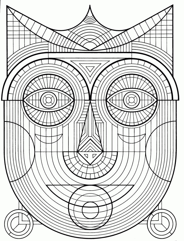 kaleidoscope coloring pages - kaleidoscope coloring pages