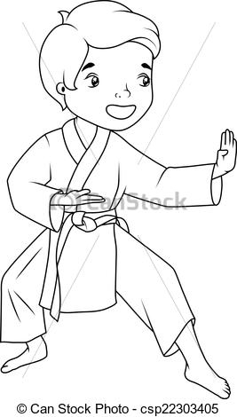 27 Karate Coloring Pages Printable