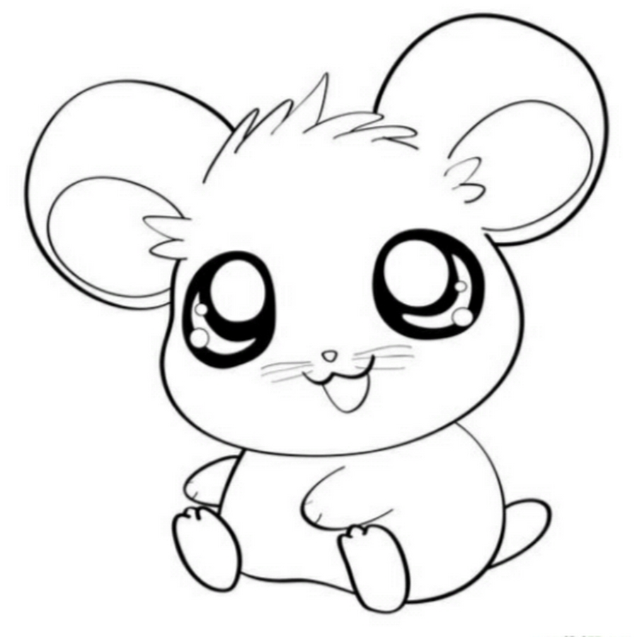 24 Kawaii Coloring Pages Images Free Part 3