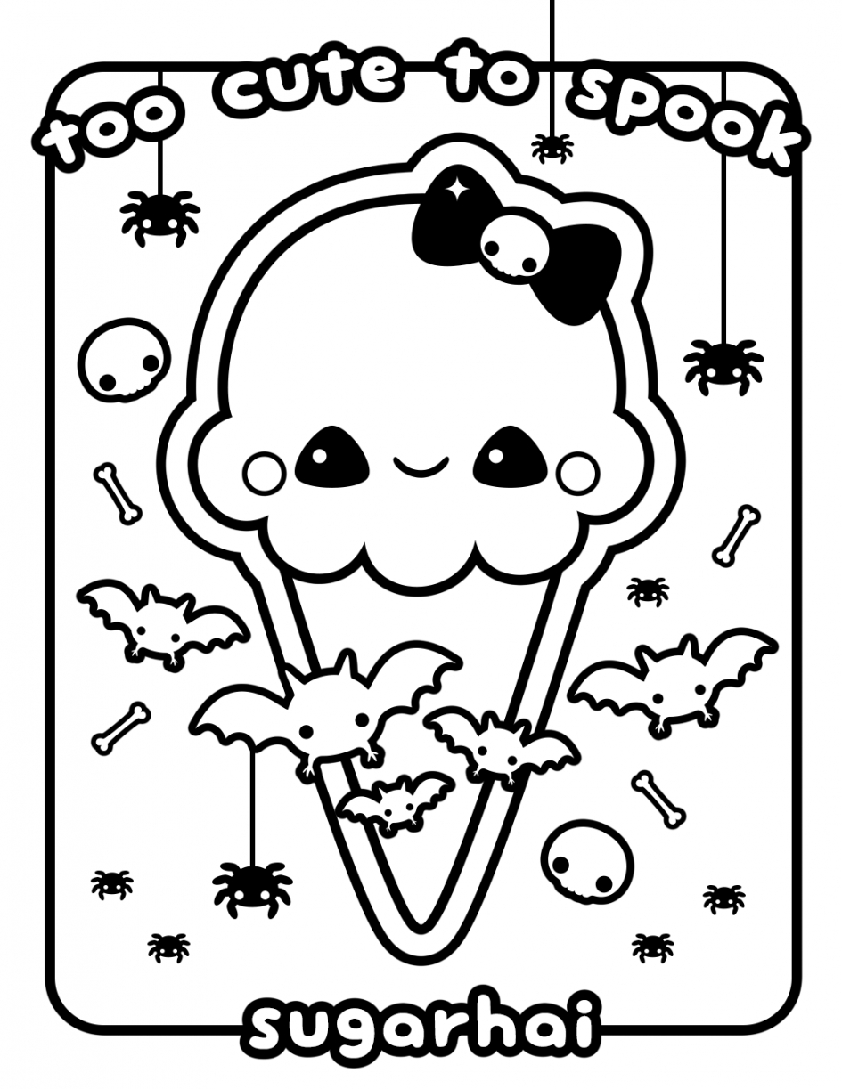 kawaii coloring pages - kawaii coloring pages
