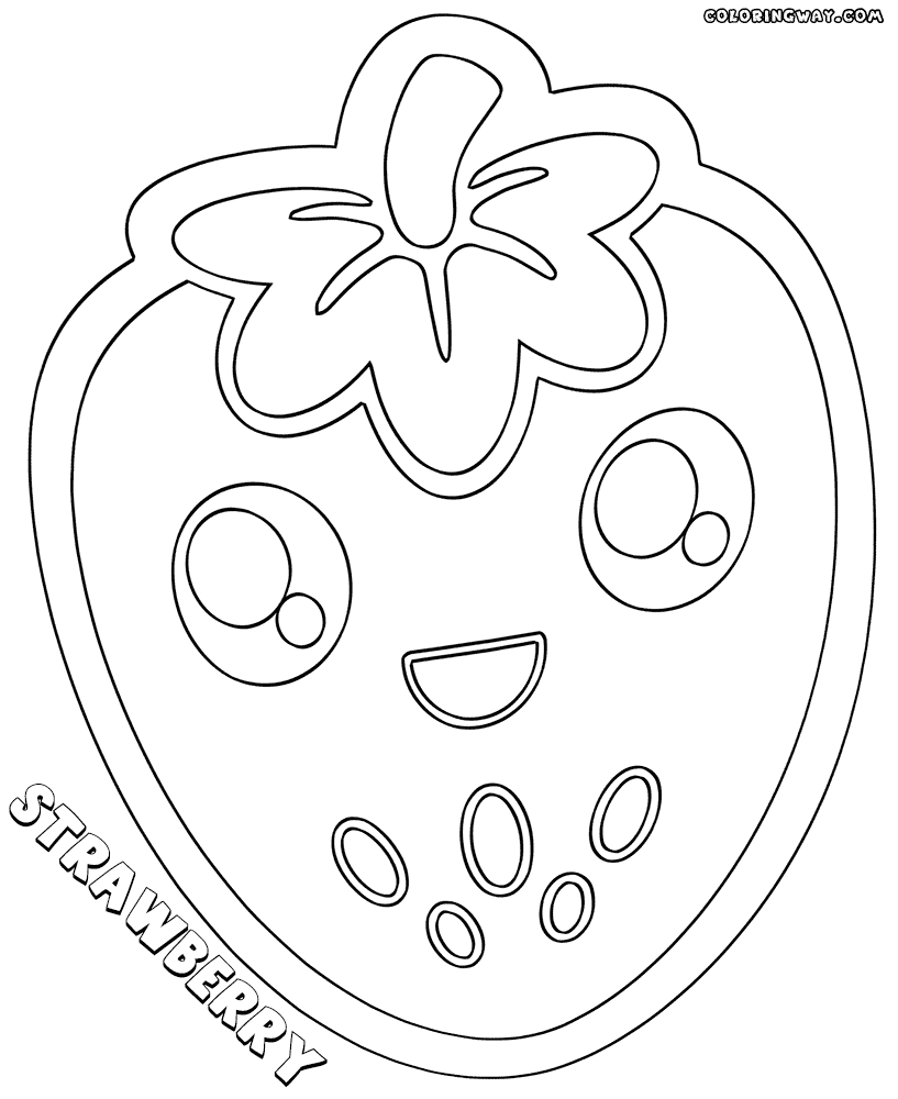 kawaii food coloring pages - cute kawaii food coloring pages sketch templates