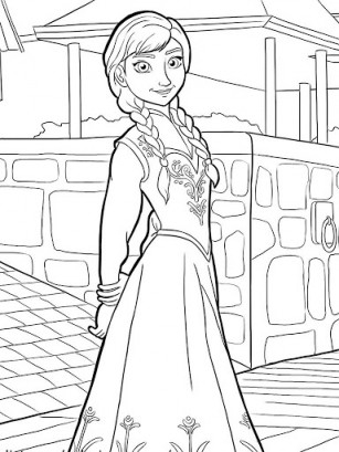 kindness coloring pages - frozen paint kxpds