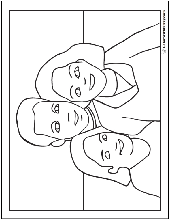kindness coloring pages - happy fathers day coloring pages