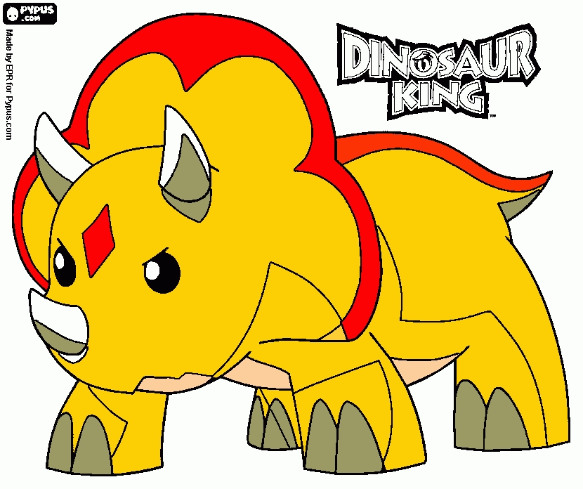 king coloring pages - coloring page dino king