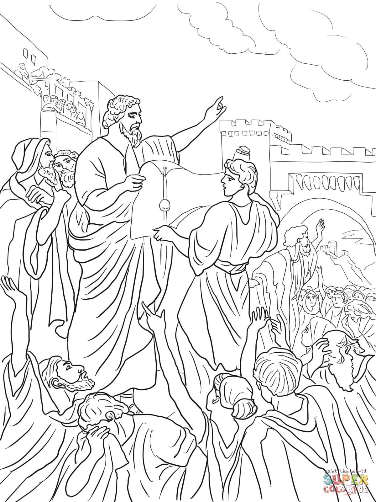 28 King David Coloring Pages Compilation FREE COLORING PAGES