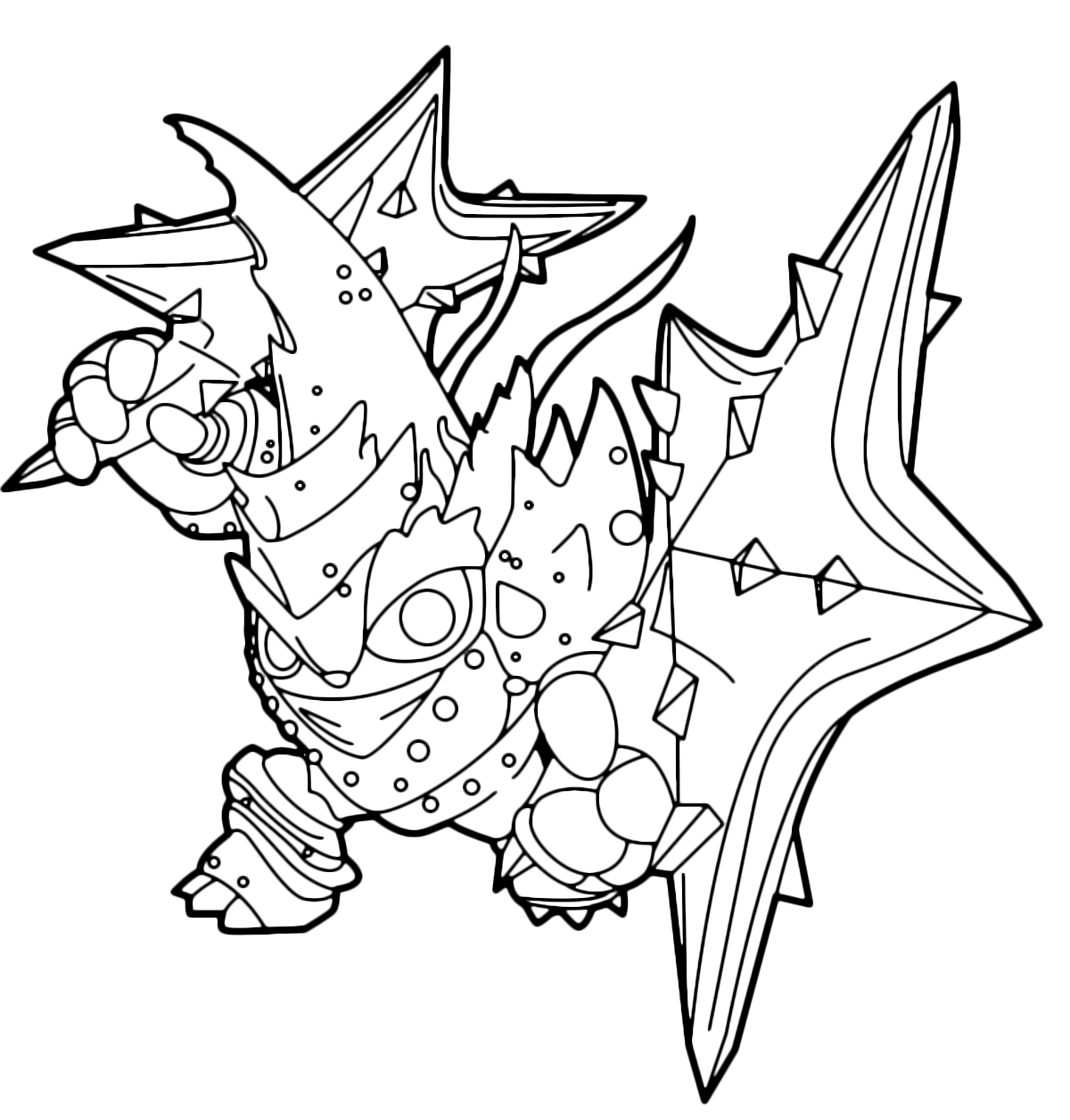 kirby coloring pages - trap team lob star stella lucente stella vinvente