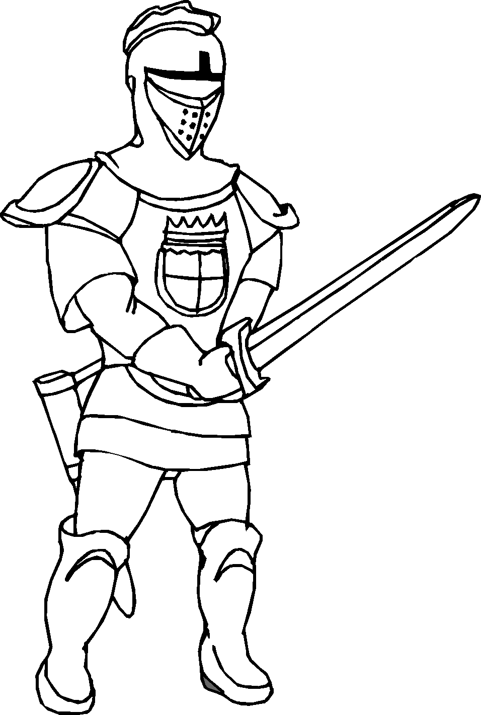 knight coloring pages - r=with knights horses