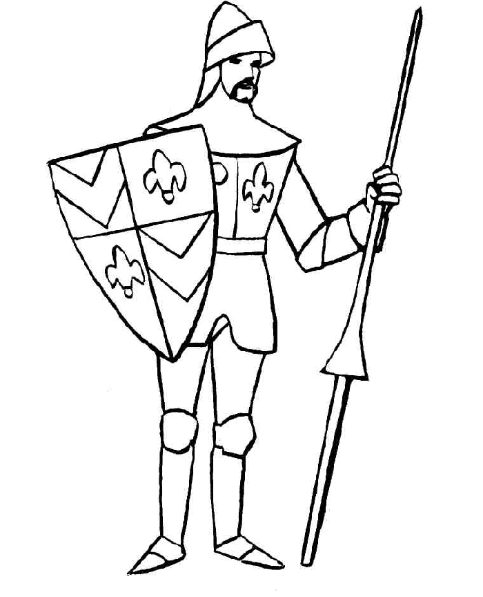 knight coloring pages - knight coloring pages