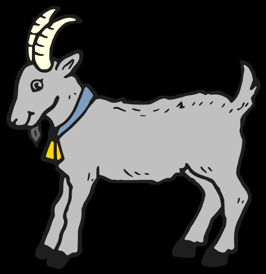 Koi Fish Coloring Page - Cute Billy Goat Clipart Clipground
