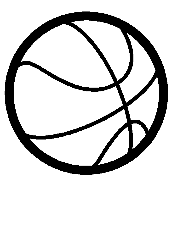 kwanzaa coloring pages - basketball basketball sports coloring pages 2