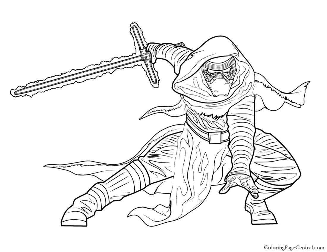kylo ren coloring page - lego kylo ren coloring pages sketch templates