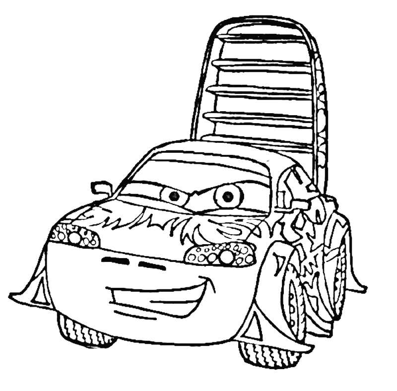 l coloring pages - carros cars disney