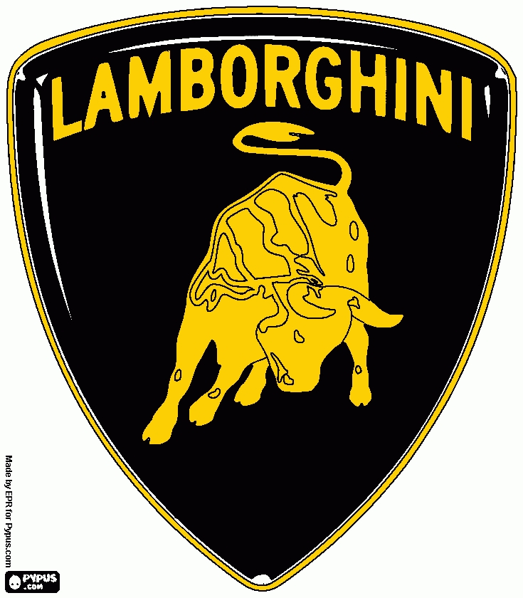 21 Lamborghini Coloring Pages Collections | FREE COLORING PAGES