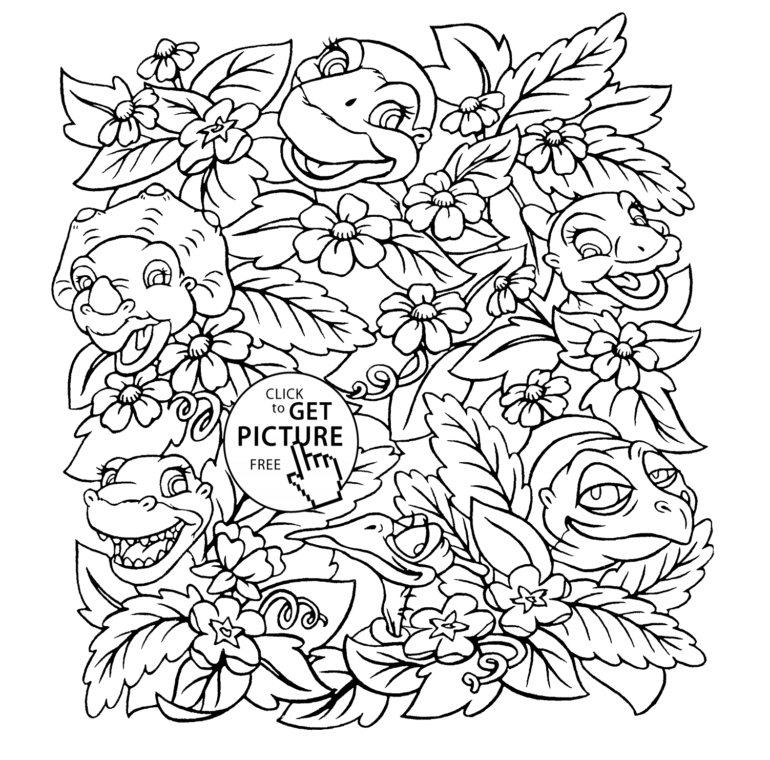 20 Land before Time Coloring Pages Selection | FREE COLORING PAGES ...