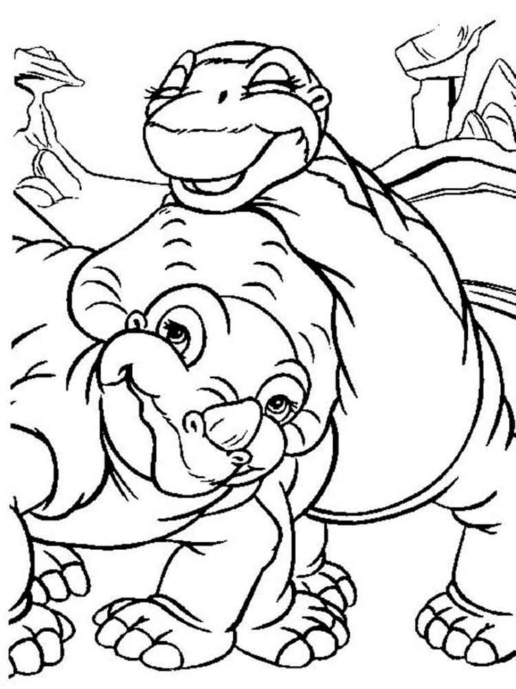 land before time coloring pages - land before time coloring pages