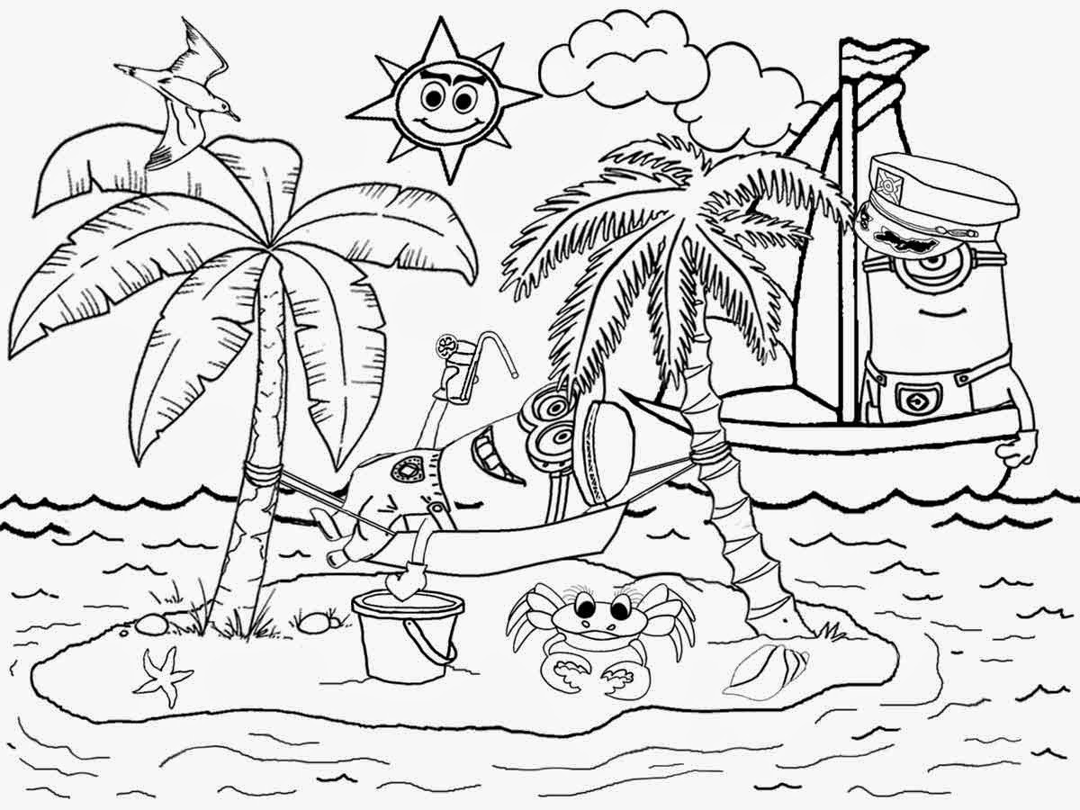 landscape coloring pages - coloring suite pages