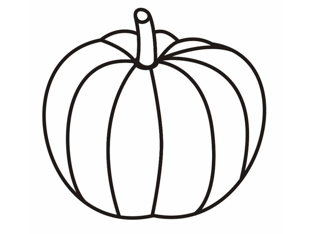 large coloring pages - pumpkin coloring pages