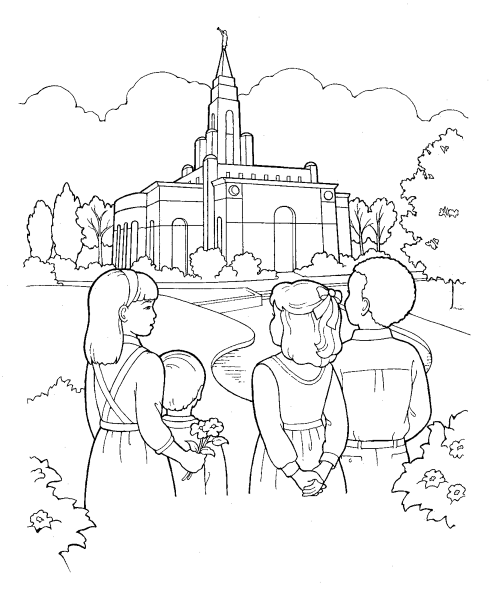 lds temple coloring pages - q=lds temples