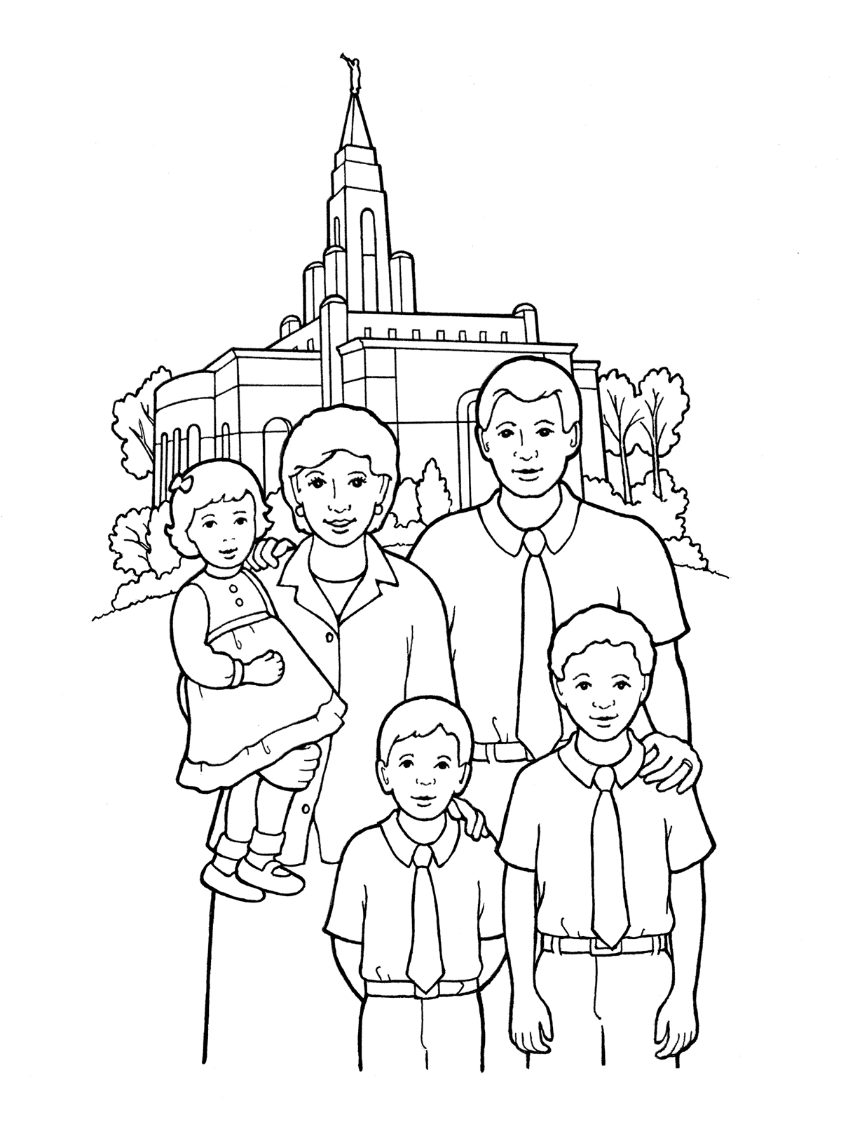 25 Lds Temple Coloring Pages Pictures | FREE COLORING PAGES - Part 3