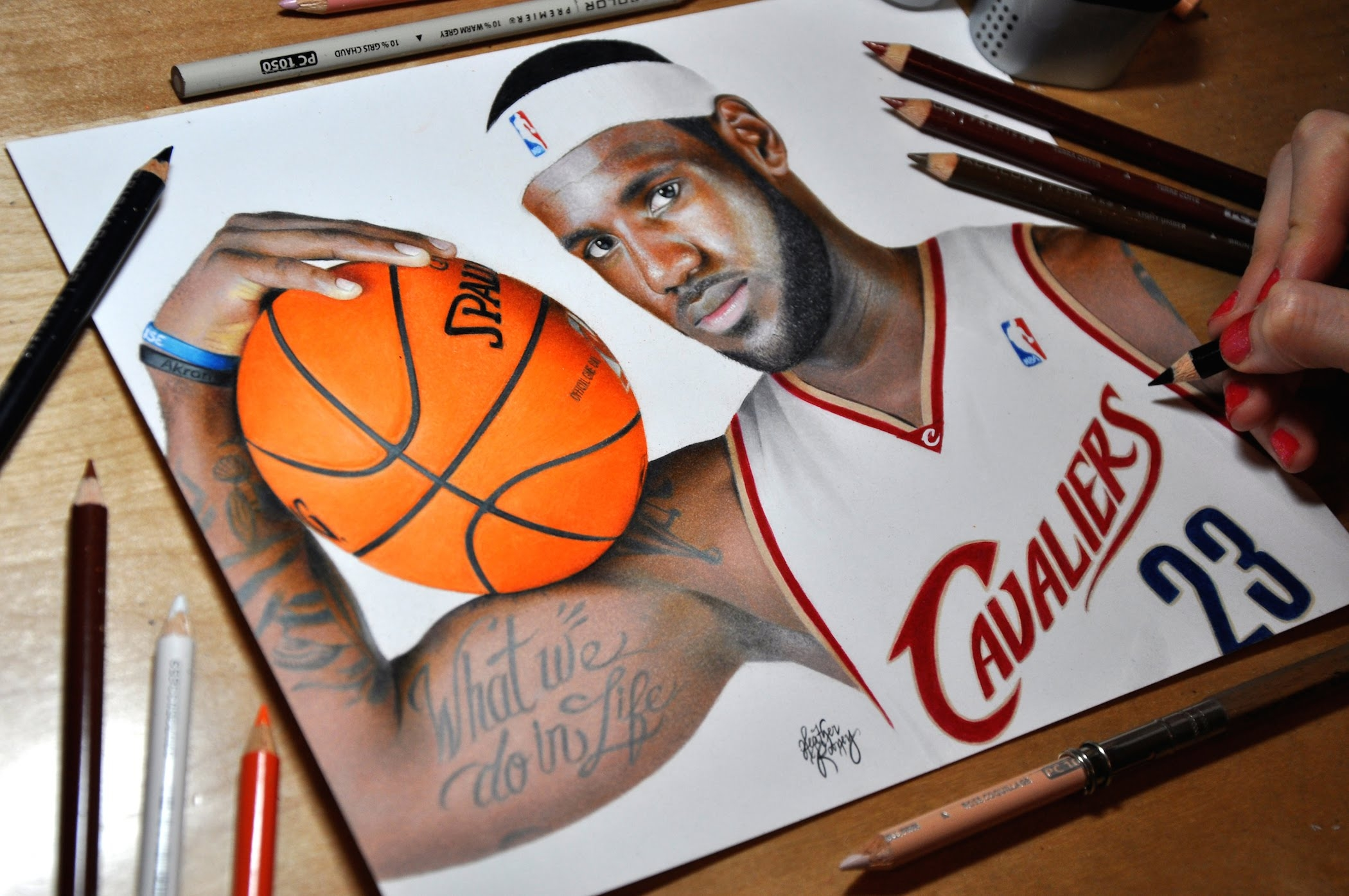 lebron james coloring pages - art work 2