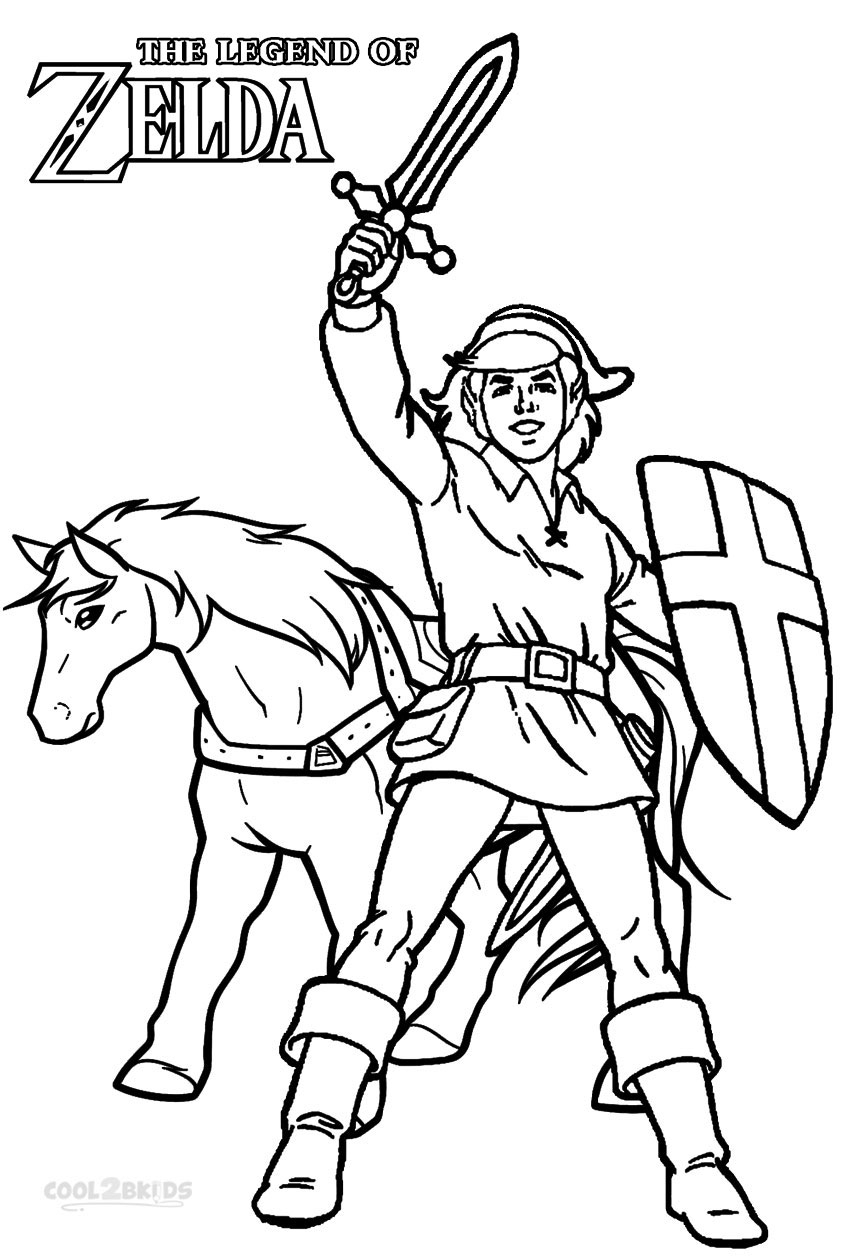27 Legend Of Zelda Coloring Pages Collections Free Coloring Pages