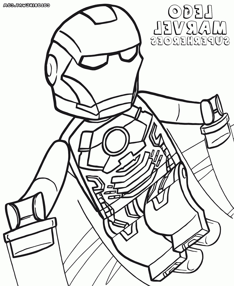 lego avengers coloring pages - lego marvel avengers coloring pages for kids and toddler