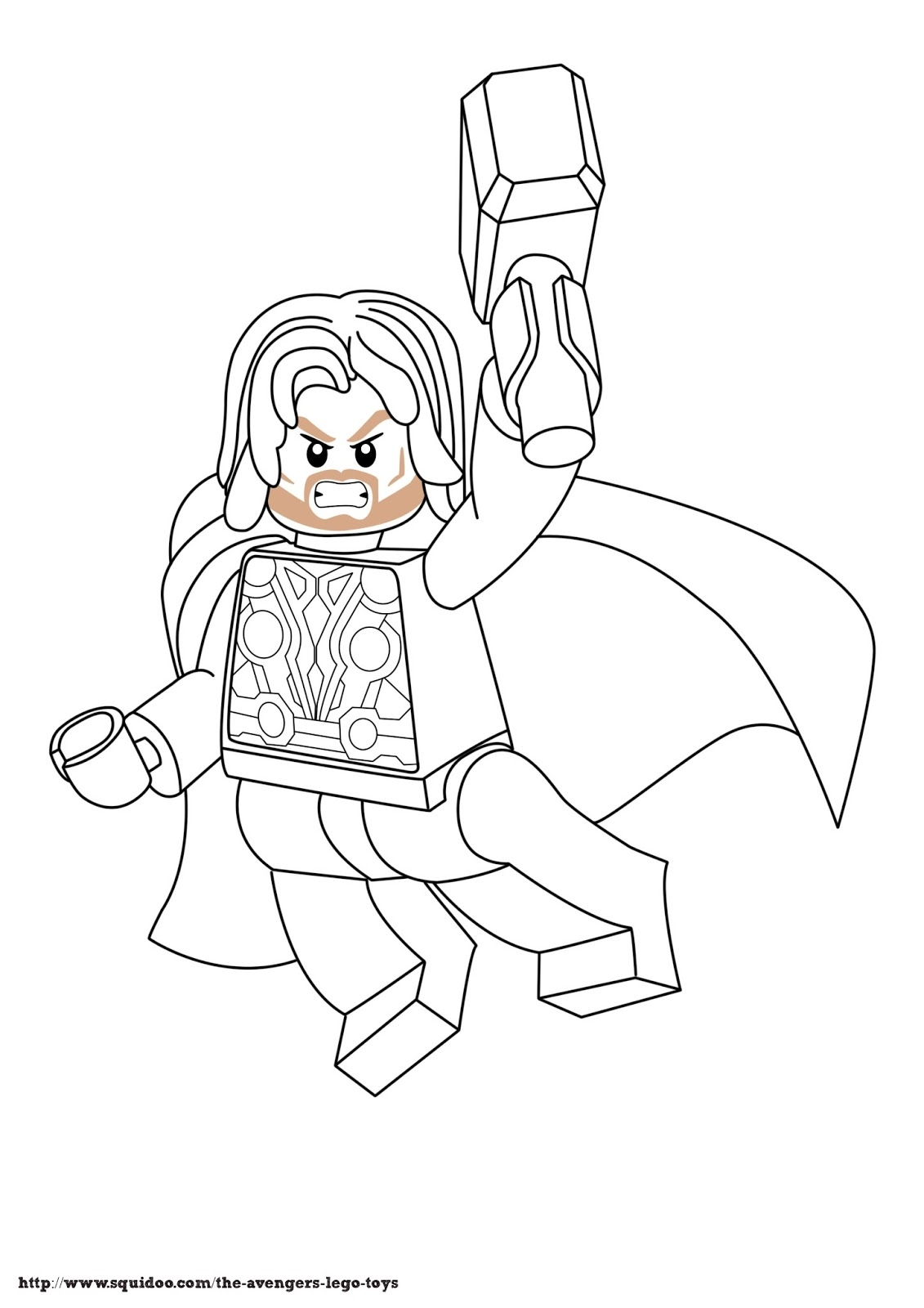 lego avengers coloring pages - lego avengers coloring page