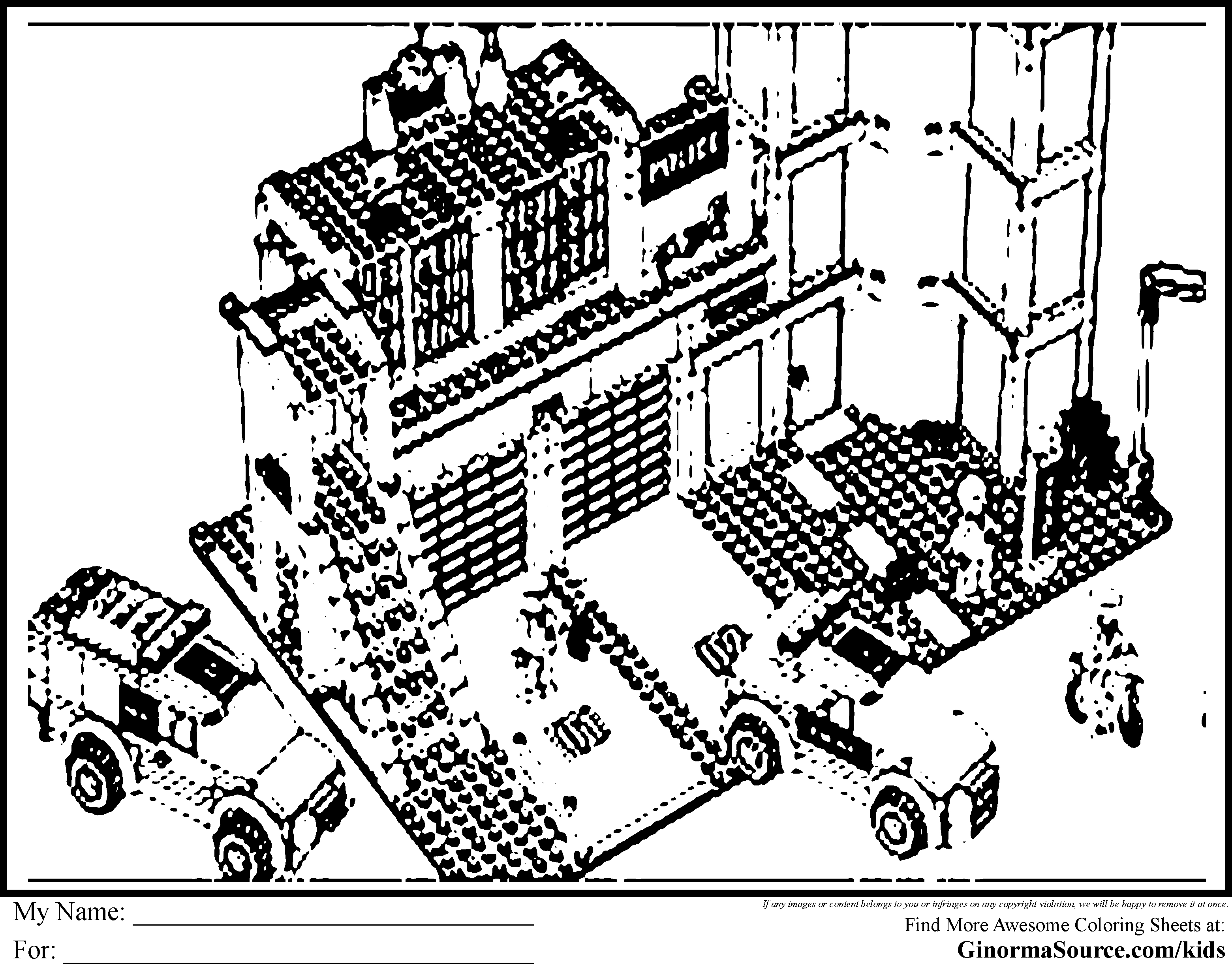 28 Lego City Coloring Pages Selection Free Coloring Pages Part 3