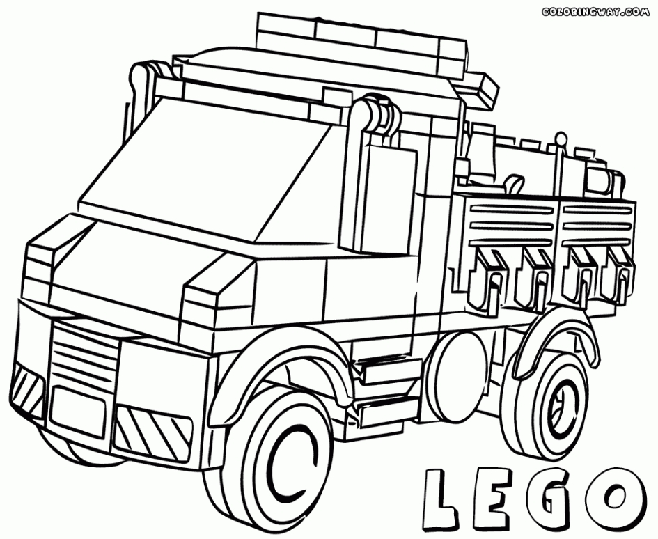 lego city coloring pages - lego city coloring pages