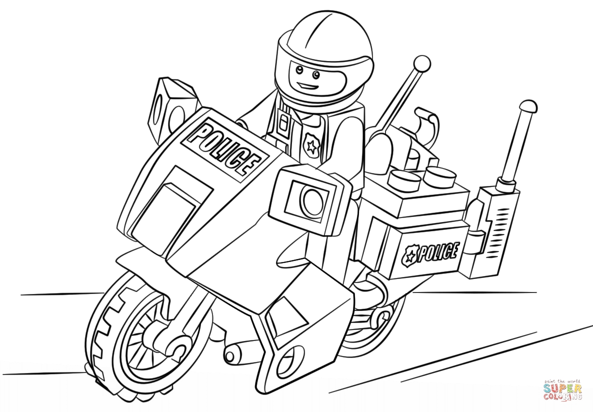 Lego City Coloring Pages - Lego City Coloring Pages Free Coloring Home
