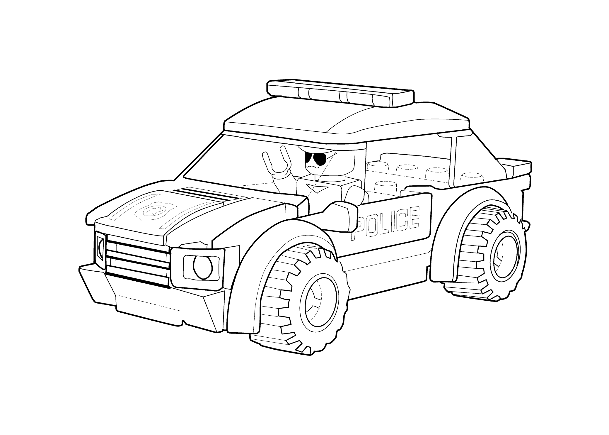 lego city coloring pages - lego city printable coloring pages