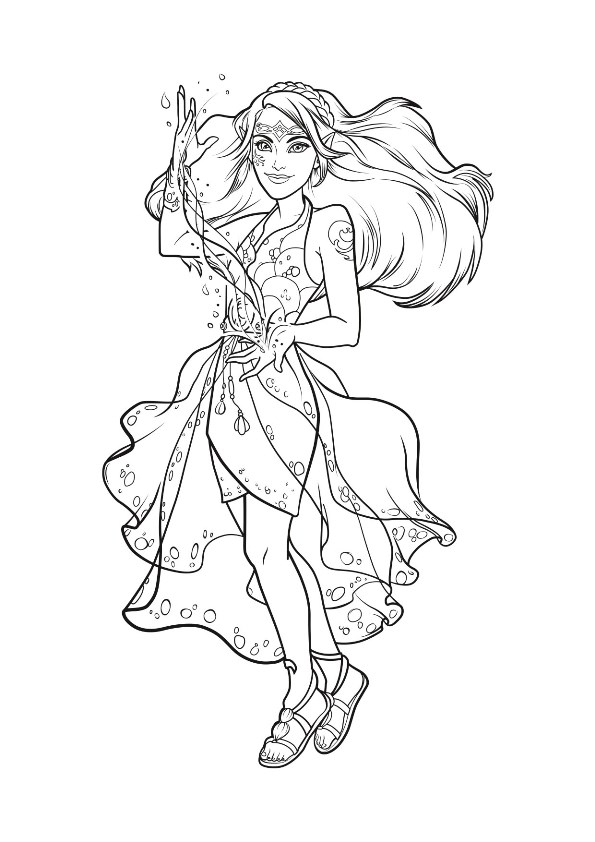 lego elves coloring pages - lego elves
