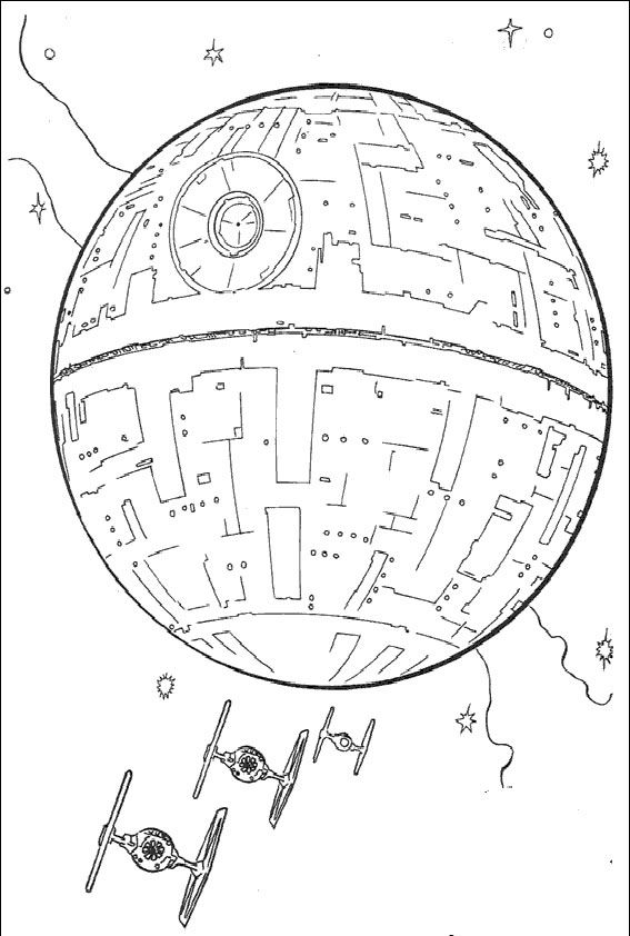 lego friends coloring pages - star wars 18