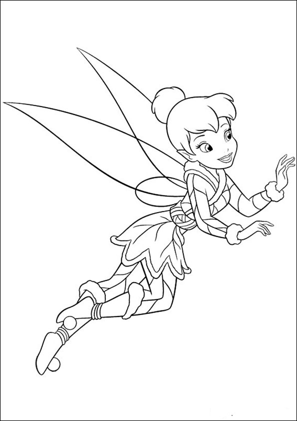 lego friends coloring pages - tinkerbell 11