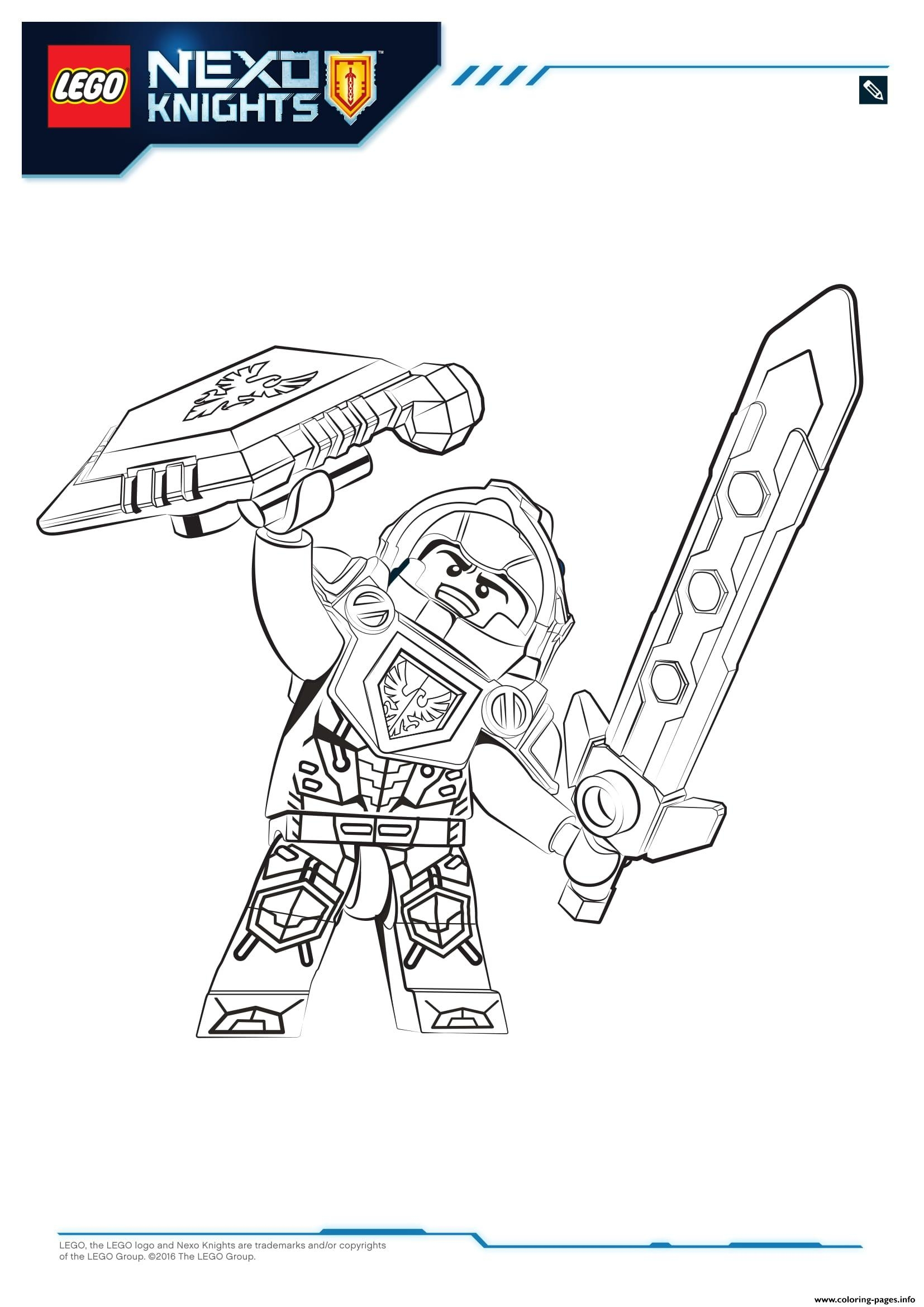 Nexo Knights Ausmalbilder Axl : 28 Lego Nexo Knights Coloring Pages Compilation Free Coloring