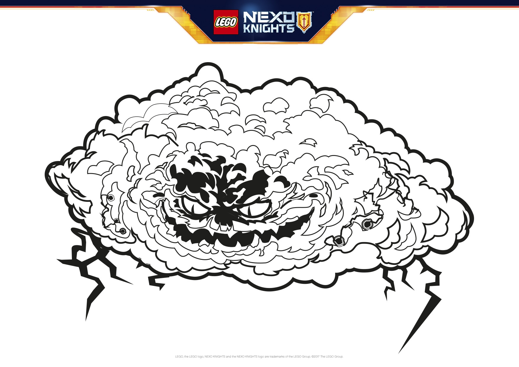 Nexo Knights Monster Ausmalbilder : 28 Lego Nexo Knights Coloring Pages Compilation Free Coloring