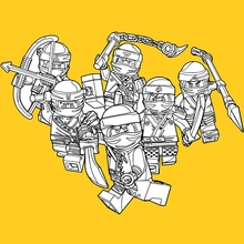 lego ninjago coloring pages - lego coloring pages