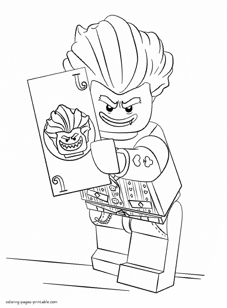 Lego printable coloring pages lego batman coloring pages id21
