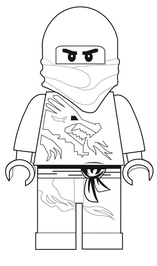lego printable coloring pages - lego ninjago coloring pages