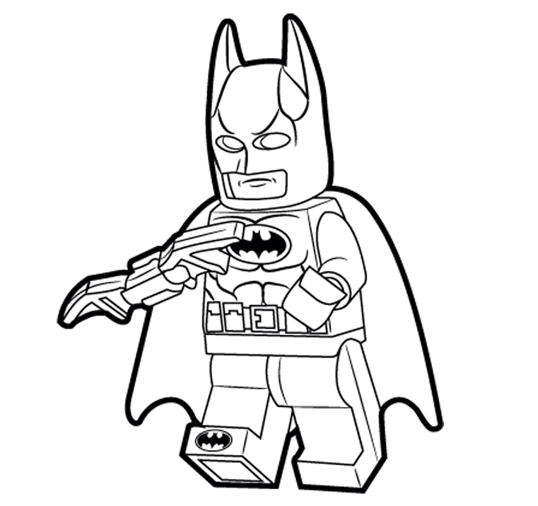 lego printable coloring pages - batman coloring pages