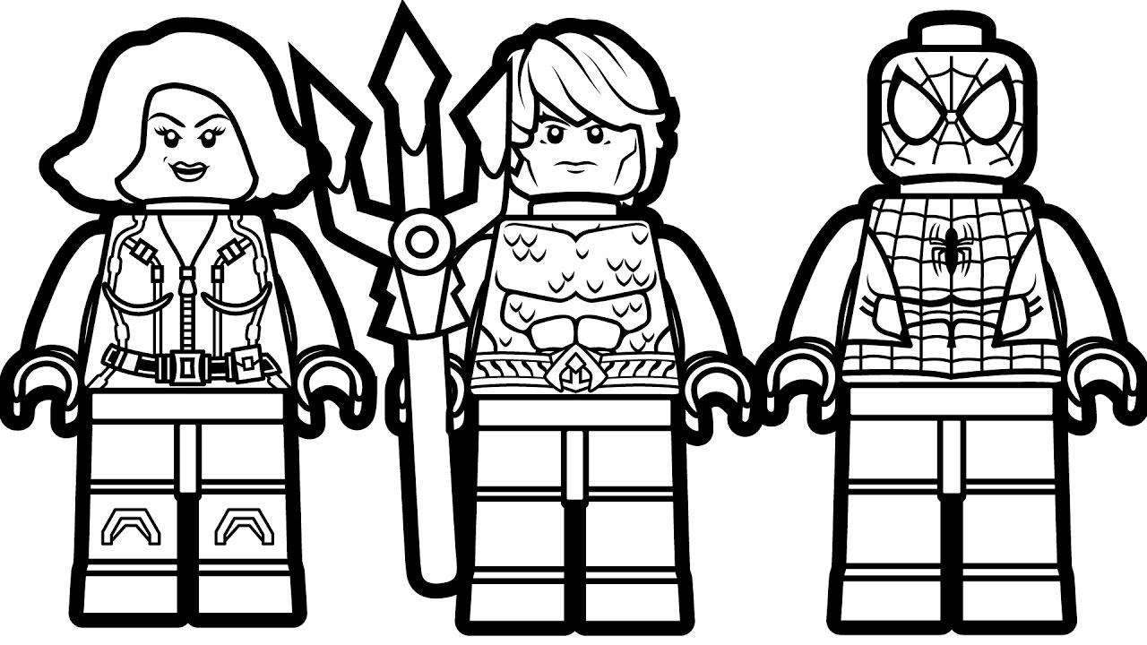 25 Lego Spiderman Coloring Pages Images | FREE COLORING PAGES - Part 2