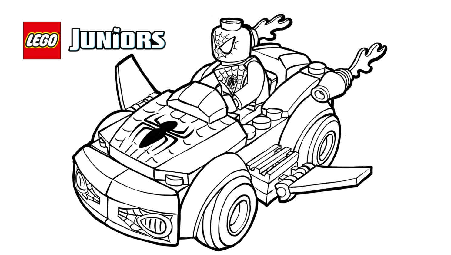lego spiderman coloring pages - box spiderman lego spider man coloring page