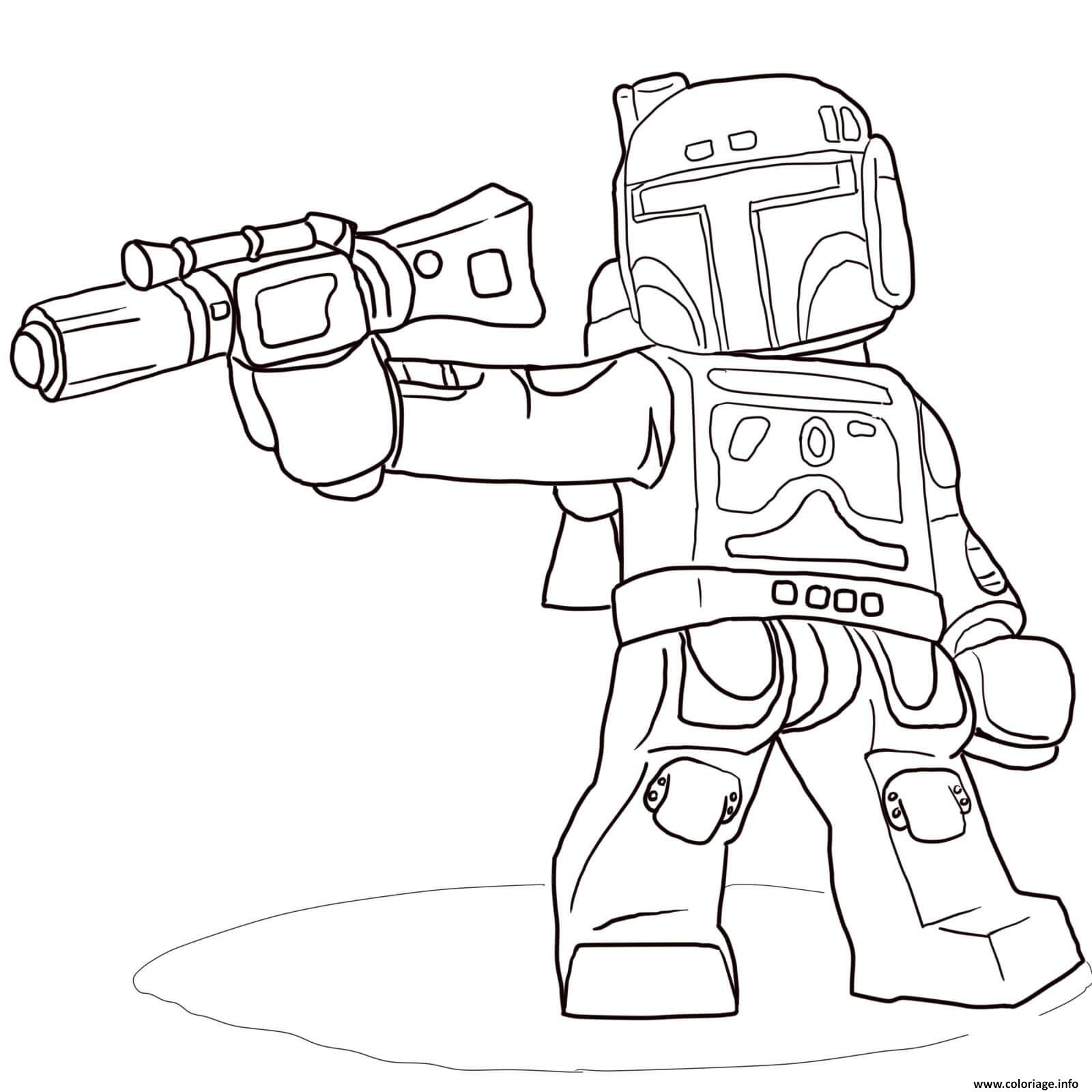 lego star wars coloring pages - lego star wars 57 coloriage