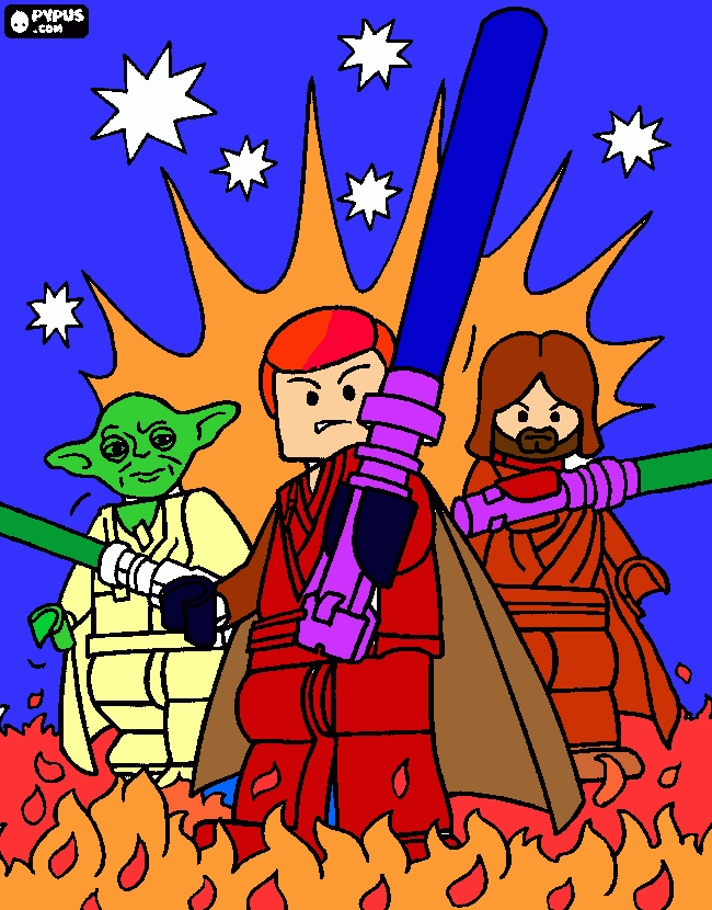 lego star wars coloring pages - colorear y pintar star wars lego