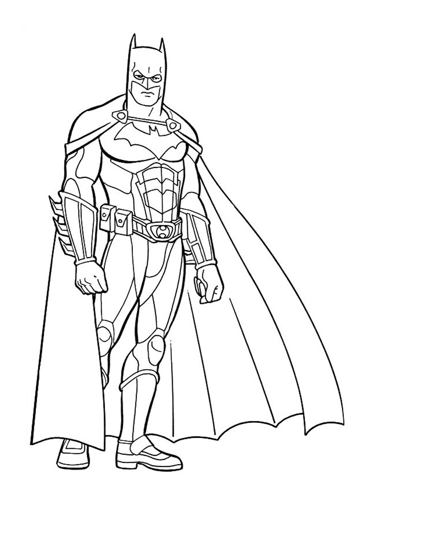 lego superhero coloring pages - batman coloring pages
