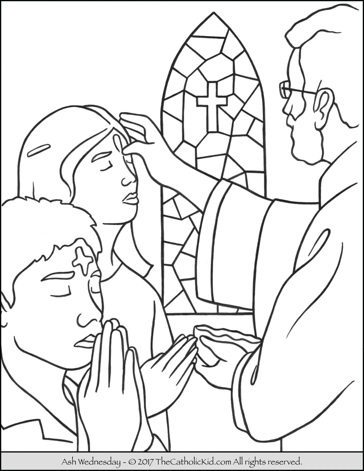 lent coloring pages - coloring pages for lent