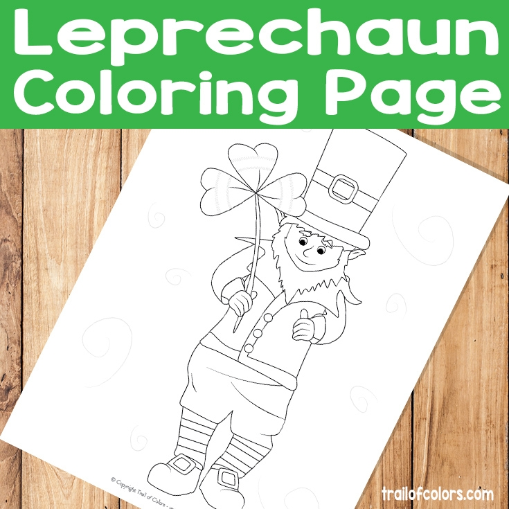 Leprechaun Coloring Pages Free - Adorable Leprechaun Coloring Page St Patrick S Day Free