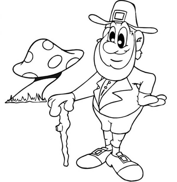 leprechaun coloring pages free - leprechaun coloring page