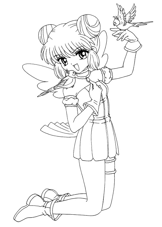 leprechaun coloring pages - anime coloring pages