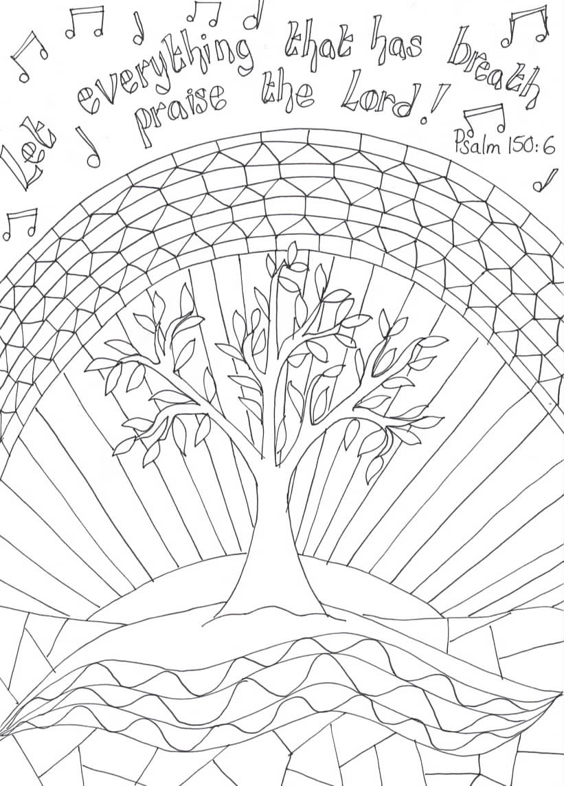 let your light shine coloring page - printable reflective worship colouring